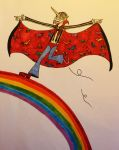 Uli, the Rainbow-unicorn-vampire-superman by Amaterasuscorp1