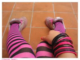 Pink and Black by SarahBob