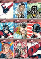 Marvel Masterpieces 2 AP cards by SpiderGuile