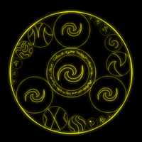 Wind Spell Runic Circle by Celesta1805
