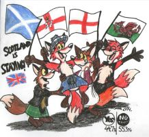 Scotland Is Staying! by FreyFox