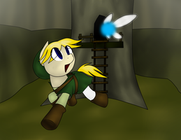 The Legend of Pony's: Ponyfied Link by IDSmehlite