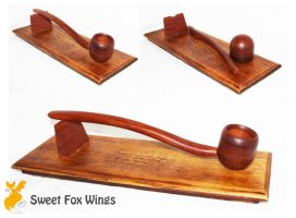 Hand Made Smoking Pipe by Sweet-Fox-Wings