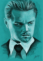 Inception: Leonardo DiCaprio by Ruubski