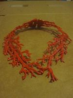 Coral Necklace by recycledrapunzel