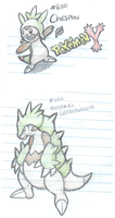 Chespin Final Evolution Speculation by Veenerick