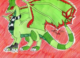 Flygon Pirate- Western Dragon Form by FlygonPirate
