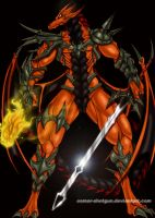Omega Charizard by Osmar-Shotgun