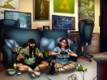 Gamers' Home by VenneccaBlind