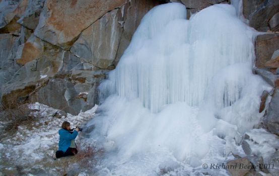 IceFall-Dec2011 by rbeebephoto