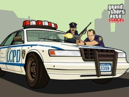 GTA Stories Cop Ambush by and0n