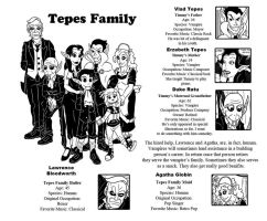 Tepes Family by ibroussardart