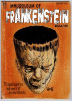 Mausoleum of Frankenstein Magazine by RobertHack
