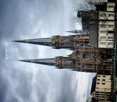 Church in Tilburg by MisterDedication