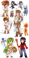 Kid Icarus dump by Lady-of-Link