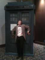 TARDIS at Dragon*Con2 by CptTroyHandsome