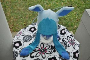 Glaceon Fleece Hat by Lexiipantz