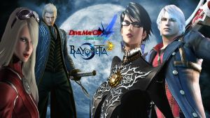 Devil May Cry 4 SE and Bayonetta 2 Wallpaper by Hatredboy