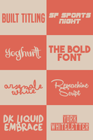 ~ Font Pack 1 - Mysteriousps ~ by MysteriousPS