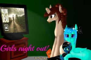 Girls Night Out by Dusk-Delight