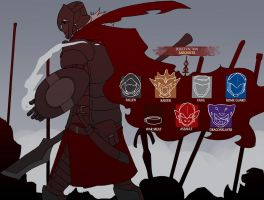 Sarghress legion selection by drowtales