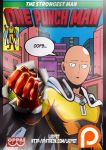 One Punch Man Comic Cover? by LadyGT