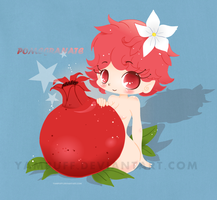Pomegranate Chibi by YamPuff