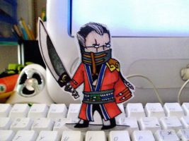 Paper Child: Auron by WhereShadowsThrive