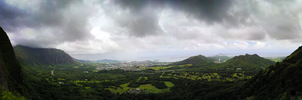Nu'uanu Pali Lookout by MitchellLazear