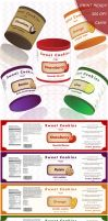 Cookie label - multiple colors by Alexandra-Ipate