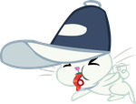 Angel Bunny Vector - 02 Blowing Whistle by CyanLightning