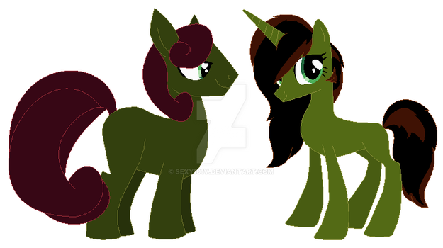 Poison Twin adopts by sexy101v