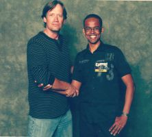 Mobis and Kevin Sorbo the legendary Hercules by Mobis-New-Nest
