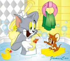 Tom y Jerry by JamesCav