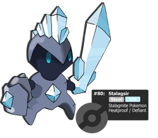 Stalagsir - Stalagmite Pokemon by TheBlueFlames