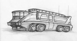 Land Yacht Motorhome by clearwater-art