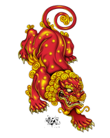 FU LION by CaziTena