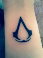 Assasin's Creed tattoo by Celldweller797