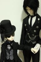 Ciel and Sebastian by Zetahadrian