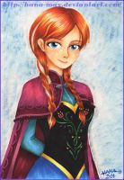 Frozen - Anna (commission) by Hana-May