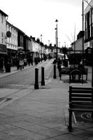 Stowmarket town center by xchingx