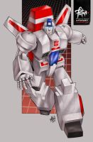 26/34 Jetfire by FranciscoETCHART