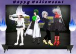Heading for the Party - Halloween 2015 by Ruz18