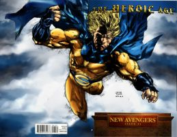 sentry cover colored by rapnex