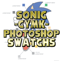 Pallete- Sonic Characters CYMK by CatbeeCache