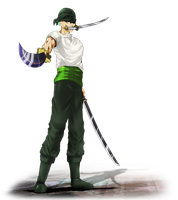 OP Zoro by xenocracy
