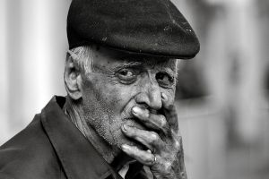 Old man after two years by MaraDamian