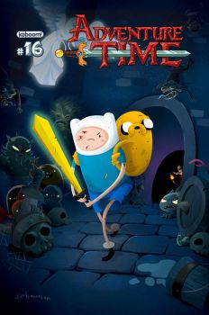 Adventure Time Comics #16b Dungeon Crawlers by rismo