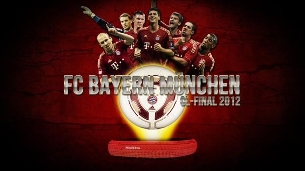 FC Bayern Munich Wallpaper JPG und PSD by Wybi