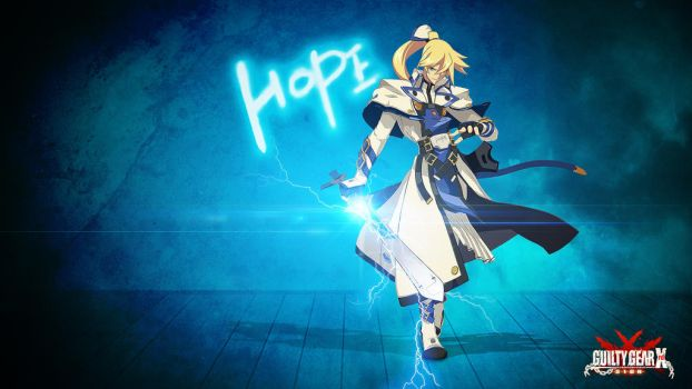 Ky Kiske - Guilty Gear Xrd (New revision) by Nateworx
